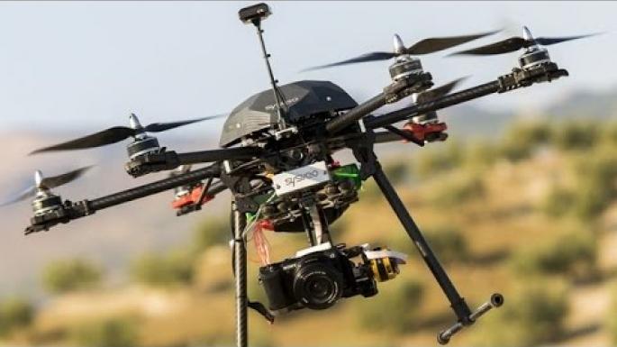 la réalité augmentée à bord de drones