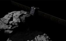 Rosetta et la comète Tchoury
