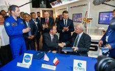 Salon International de l'Aéronautique et de l'Espace de Paris-Le Bourget 2017 vu par Pléiades