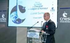 [PRESS] CNES Chief Operating Officer Lionel Suchet made Knight of the Legion of Honour