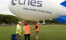 Ballon CNES pour le largage des Cansat