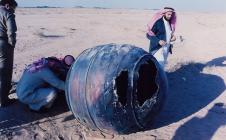 Moteur d'un lanceur Delta II