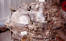 Débris navette Challenger