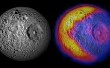 Forte remontée des températures sur Mimas