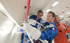Les nouveaux astronautes s'entraînent en impesanteur