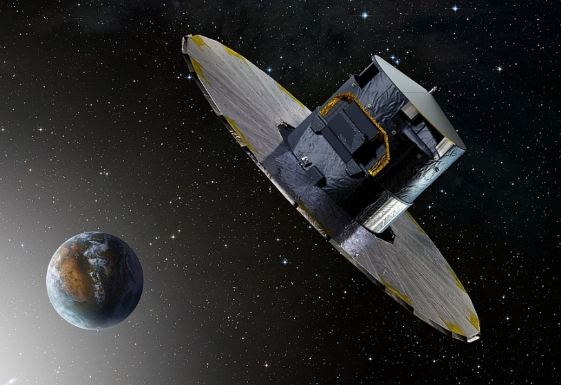 Illustration du satellite Gaia © ESA/DUCROS David, 2013